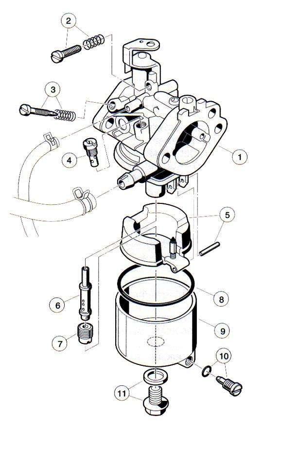 Club Car Engine Diagram Club Car Wiring Diagram Wiring Diagrams Club